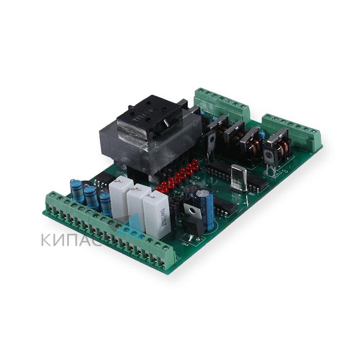 Автоматическое регулирование мощности активной нагрузки с помощью сигналов управления 0(4) 20 ма, 0 5 ма, 0 10 в, поступающих от регулятора (например, овен трм, трм10).