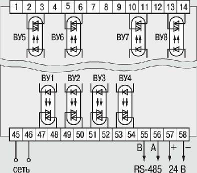 Схема подключения симисторных